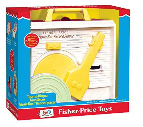 Fisher-Price AKFPTD01ML – Tocadiscos