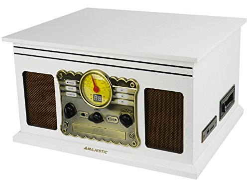 New Majestic TT-46 BT Jukeboxes (33,45,78 RPM, CD,CD-DA,CD-R,CD-RW, Am,FM, Analógica, SD, LED)