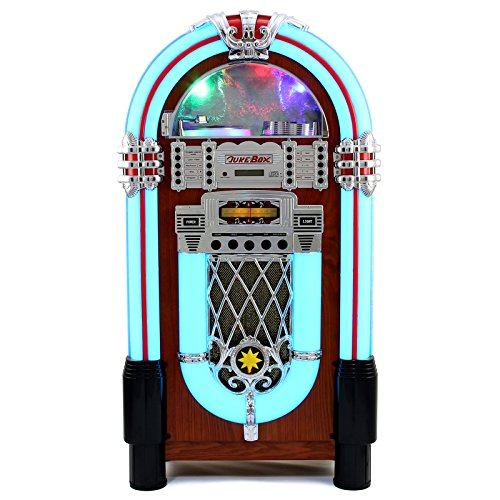 Jukebox Años 1950 – CD, USB, Memory Card SD/MMC, Radio, Bluetooth y Aux