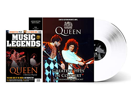 QUEEN: THE HALCYON YEARS IN CONCERT – WHITE VINYL – MAGAZINE SPECIAL LIMITED EDITION