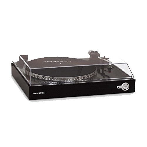 Thomson TT200 – Giradiscos, Color Negro