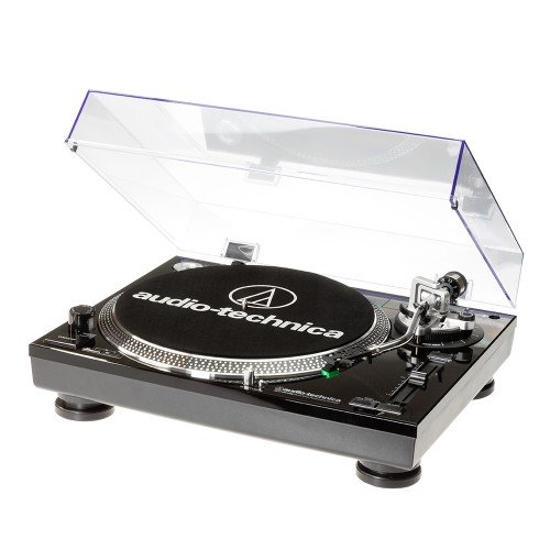 Audio-Technica AT-LP120USBCBK tocadisco – Tocadiscos (1.1, Corriente alterna, 11W, 115-230V, Windows XP, Vista, MAC OSX, Aluminio)