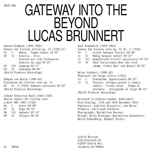 Gateway Into The Beyond [Lucas Brunnert] [Gramola: 98006]