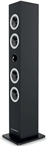 Thomson DS50 – Torre de Sonido con Bluetooth (20 W) Color Negro